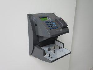 iometric handprint scanner
